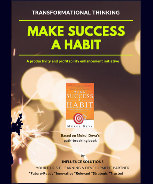MAKE SUCCESS A HABIT (Available as a LIVE webinar) *MOST POPULAR